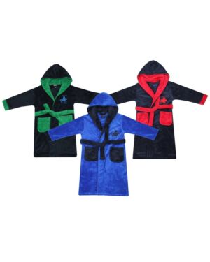 Infant robe with embroidery horse - TD5924