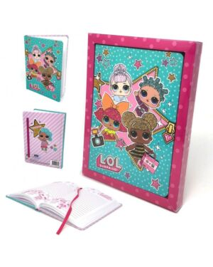 LOL Surprise Gift Boxed Note Book Organiser QA4064