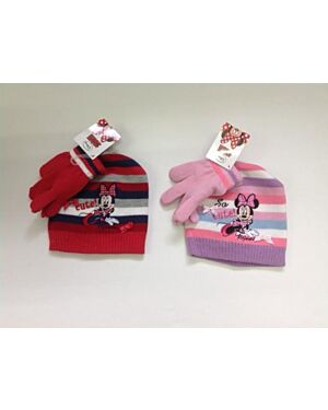 Minnie Mouse Hat and Glove Set TD9494