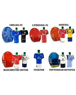 FOOTBALL TEAMS KIT BOTTLE COVERS - MJ1390