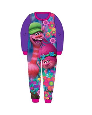OLDER GIRLS TROLLS FLEECE ONESIE - QA788