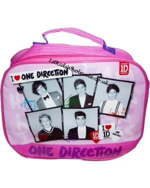 ONE DIRECTION PHOTO PRINT LUNCH BAG - TD4410