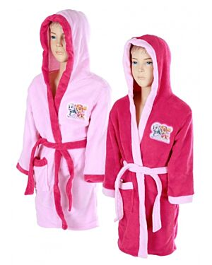 Girls Paw Patrol Hooded Dressing Gown TD8161