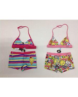Smiley World Bikini Costume TD10636