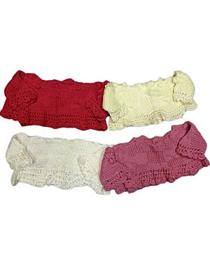 GIRLS KNITTED FASHIONABLE SHRUG PL1545