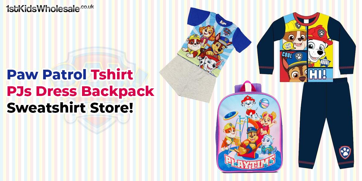 Paw Patrol T-shirt PJs Dress Backpack Sweatshirt Store!