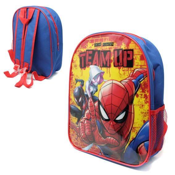 Backpack Spiderman with Mesh Side pocket PL1614